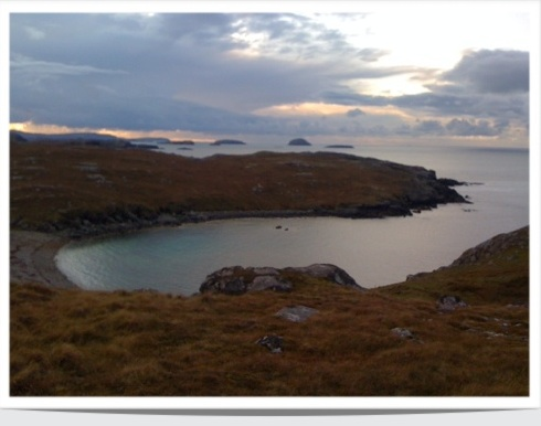 Coast of Harris, curvaceous lines and exquisite profiles