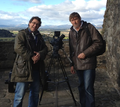 Jerry and Andy at Stirling Castle