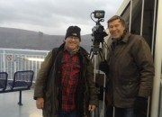 Andy and Jerry on the Orkney Ferry