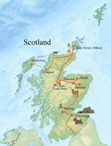 WOE trip map-over to Lewis