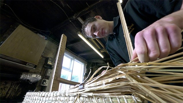 Fraser Anderson, skilled Orkney Chair craftsman
