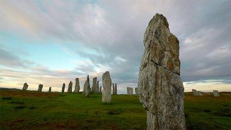 Standing stones on Lewis