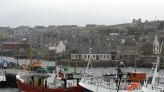 The merry medley of the harbour, Orkney