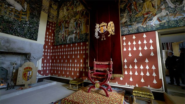 Stirling Castle's Throne Room