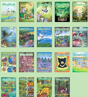 past issues of ENV's Green Forest magazine