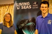 Kay Foster and Jonathan Holt  give Marine Conservation Society Talk at Maulds Meaburn Village Institute