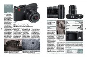 Review of Leica X VARIO featuring Di Gilpin designs in Black+White Photography, February 160 issue