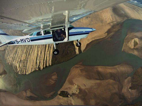 Paul van Schalkwyk enaging in Aerial Fine Art Photography
