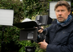 Andy with Wild Open Eye's Sony FS700 cinema HD camera