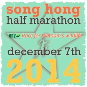 Song Hong Half Marathon, Race For Wildlife 2014 logo