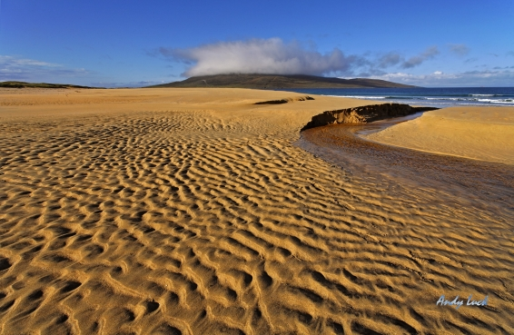 A pristine British beach.  Andy Luck photo and copyright.