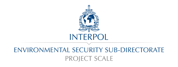 Project Scale, INTERPOL logo