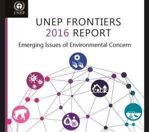 Cover of UNEP Frontiers report 2016.