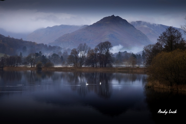 Exquisite View of Rydal Water. Image and copyright Andy Luck 2010