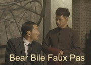 Famous Vietnamese actors, Trung Anh and Xuan Bac deliver a strong message that bear bile consumption is a relic of the past and plays no part in the modern, forward-thinking Vietnam. ENV image and copyright.
