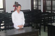 Hoang Tuan Hai facing justice in Nha Trang, Lao Động photo and copyright.
