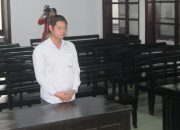 Hoang Tuan Hai facing justice in Nha Trang, Lao Động photo and copyright.