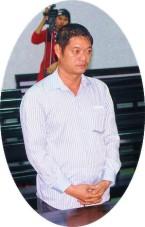 Hoang Tuan Hai in court in Nha Trang__ Lao Động