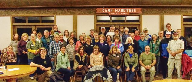 Some of the Rendezvous 2018 participants gathered for a group photograph. Our thanks to all who helped make it such a success! Kimmie Paxton image.