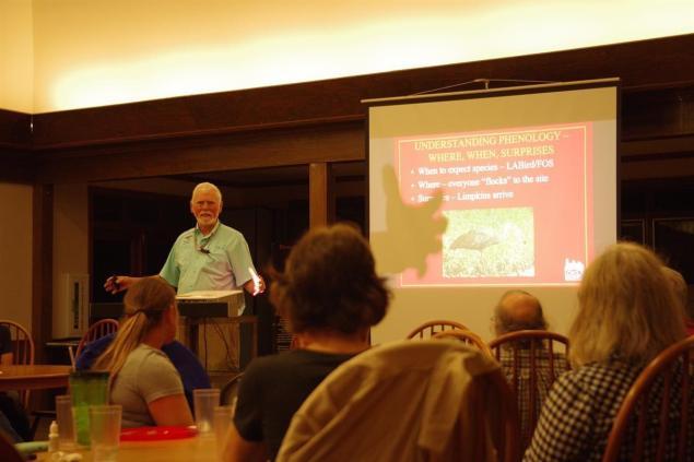 Dr. Bob Thomas, conveying knowledge and inspiring at Louisiana Master Naturalists Rendezvous