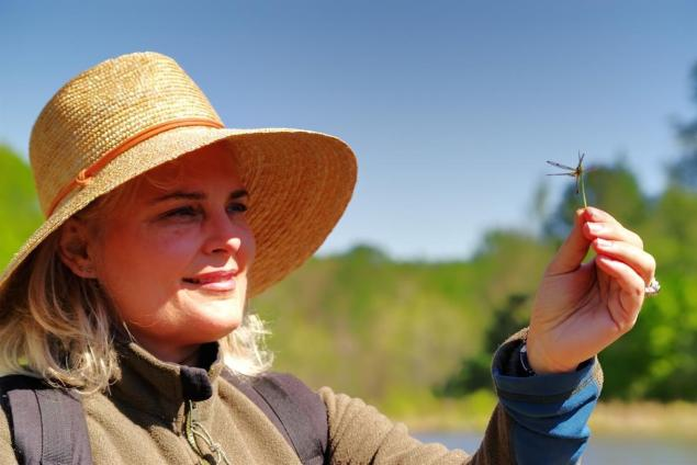 A lady and a living jewel. One of the chief delights was my first encounter with the exquisite Calico Pennant dragonfly, a living jewel. Louisiana Master Naturalists Rendezvous 2018