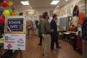 People enjoying the exhibition of Scooldays in Union Parish at Union Museum of History and Art.