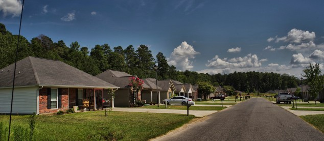 A Smart B Homes Community near West Monroe, northeast Louisiana.